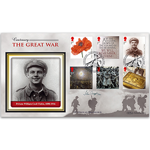 2014 The Great War Stamps BLCS 5000 - Signed by Field Marshal Sir John Chapple GCB CBE