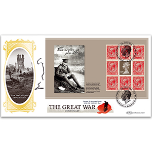 2014 The Great War PSB BLCS - Cover 3 - (P3) 1.00 Pane - Signed by General Carter