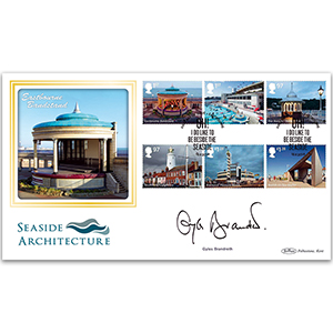 2014 Seaside Architecture Stamps BLCS 2500 - Signed by Gyles Brandreth