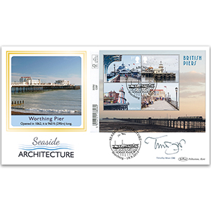 2014 Seaside Architecture Barcoded M/S Ltd Ed 1000 BLCS 5000 - Signed by Timothy West CBE