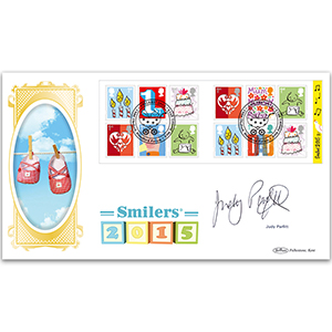2015 Smilers Retail Booklet BLCS 2500 - Signed by Judy Parfitt