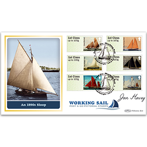 2015 Post & Go: Working Sail BLCS 5000 - Signed by Jan Harvey