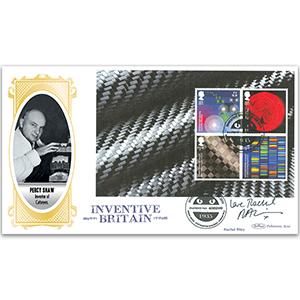 2015 Inventive Britain PSB BLCS Cover 2 - (P3) - Signed Rachel Riley