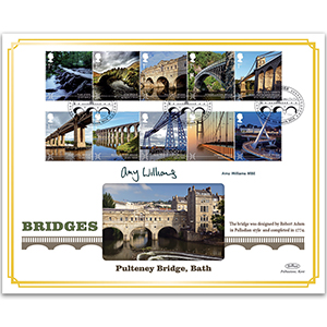 Bridges Stamps BLCS 5000 - Signed by Amy Williams MBE