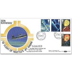 1991 Scientific Achievement: Frank Whittle Jet Engine 50th BLCS