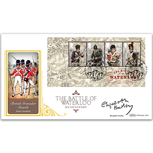 2015 Battle of Waterloo m/s BLCS 5000 - Signed Elizabeth Hurley