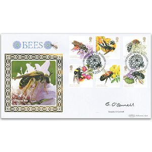 2015 Bees Stamps BLCS 2500 - Signed by Sanjida O'Connell