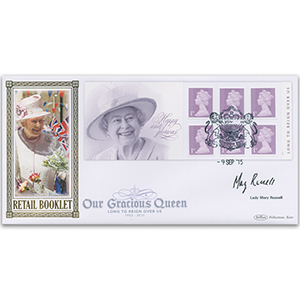 2015 Long to Reign Over Us Retail Booklet BLCS 5000 - Signed by Lady Mary Russell