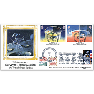 1991 Europa: Europe in Space BLCS - Doubled Kennedy Space Center & Houston