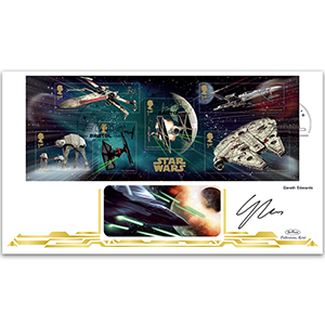 2015 Space Adventure M/S BLCS 2500 - Signed by Gareth Edwards
