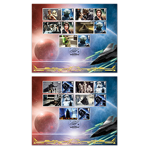2015 Space Adventure Generic Collectors Sheet - Benham BLCS 5000 - Pair