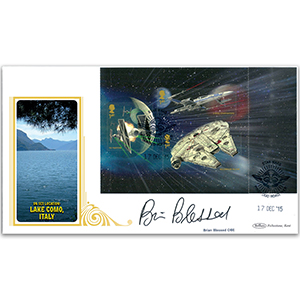 2015 Space Adventure PSB BLCS P3 3x1st Falcon Signed Brian Blessed
