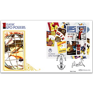 2016 Royal Mail 500 Barcoded M/S BLCS 2500 - Signed Mark Heap