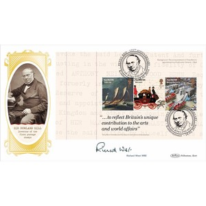 2016 Royal Mail 500 PSB Cover 2 - P4 - 2 x £1.52/1st - Signed by Richard West