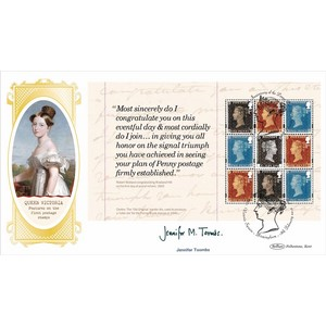 2016 Royal Mail 500 PSB Cover 4 P2 Defin - Signed by Jennifer Toombs