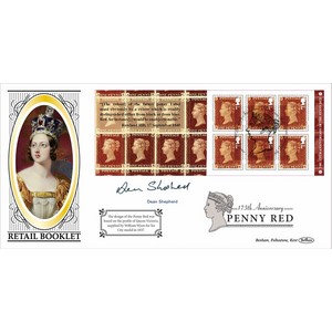 2016 175th Penny Red Retail Booklet BLCS 2500 - Signed by Dean Shepherd