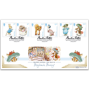 2016 Beatrix Potter Stamps BLCS 2500