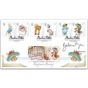2016 Beatrix Potter Stamps BLCS 2500 - Signed Barbara Flynn