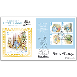 2016 Beatrix Potter M/S BLCS 5000 - Signed by Patricia Routledge CBE