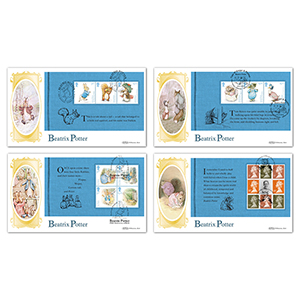 2016 Beatrix Potter PSB - BLCS Set of 4