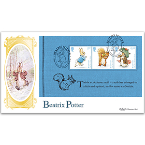 2016 Beatrix Potter PSB BLCS Cover 1 - (P2) Squirrel Nutkin