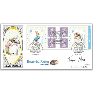2016 Beatrix Potter Retail Booklet BLCS 5000 Signed Jane How