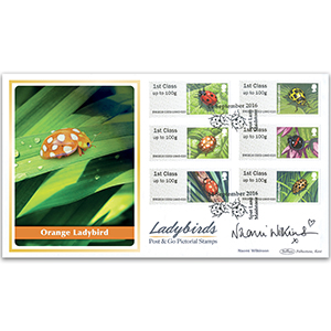 2016 Post & Go Ladybirds BLCS 2500 - Signed by Naomi Wilkinson