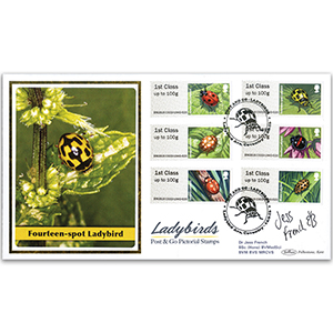2016 Post & Go Ladybirds BLCS 5000 - Signed by Dr. Jess French