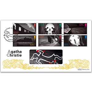 2016 Agatha Christie Stamps BLCS 5000