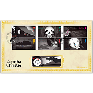 2016 Agatha Christie Stamps BLCS 2500