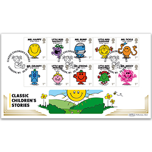 2016 Mr Men Stamps BLCS 5000