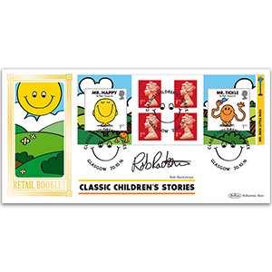 2016 Mr Men Retail Booklet BLCS 5000 - Signed by Rob Rackstraw