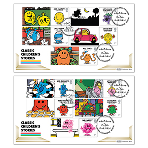 2016 Mr Men Generic Sheet BLCS Pair