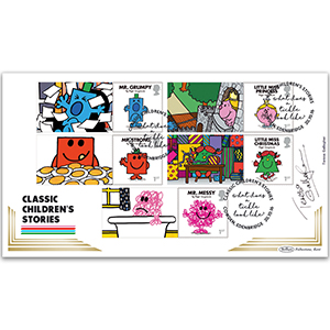 2016 Mr Men Generic Sheet BLCS 5000 - Cover 2 of 2 - Signed by Teresa Gallagher