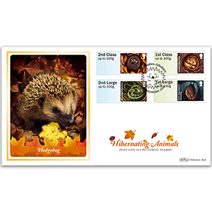 2016 Post & Go Hibernating Animals BLCS 2500