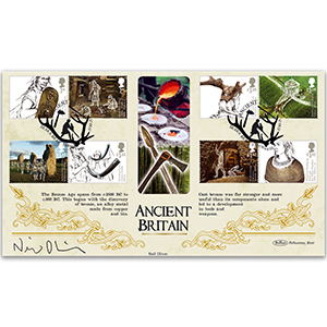 2017 Ancient Britain BLCS 5000 - Signed by Neil Oliver