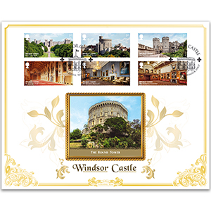 2017 Windsor Castle Stamps BLCS 5000