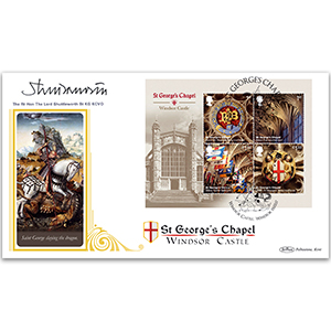 2017 Windsor Castle M/S BLCS 5000 - Signed The Rt Hon The Lord Shuttleworth Bt KG KCVO