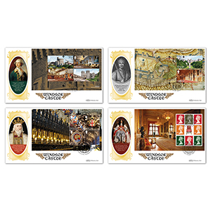 2017 Windsor Castle PSB BLCS - Set of 4