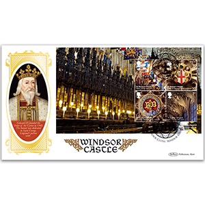 2017 Windsor Castle PSB BLCS Cover 3 - (P4) M/S Pane