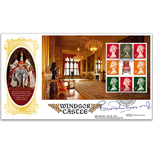 2017 Windsor Castle PSB BLCS Cover 4 - (P3) Defin Pane - Signed by Viscount Brookeborough KG