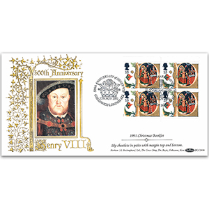 1991 Christmas Booklet BLCS - Henry VIII