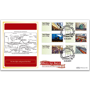 *2017 Post & Go Mail by Rail BLCS 2500