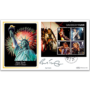 2017 David Bowie M/S BLCS 5000 - Signed Paul Trynka
