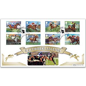 2017 Racehorse Legends Stamps BLCS 5000