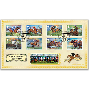 2017 Racehorse Legends Stamps BLCS 2500