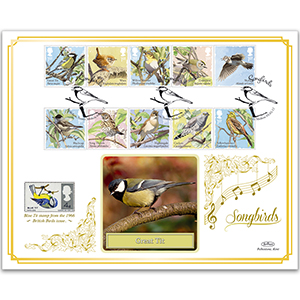 2017 Songbirds Stamps BLCS 5000