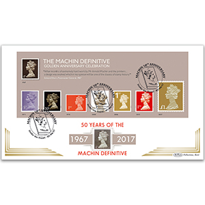 2017 Machin M/S - Golden Anniversary Celebration - Benham BLCS 5000 Cover