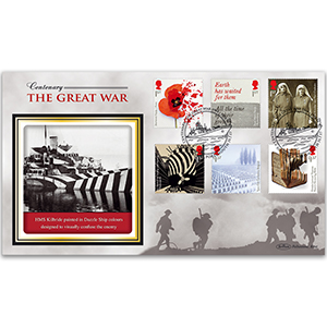 2017 WWI Stamps - Benham BLCS 5000 Cover