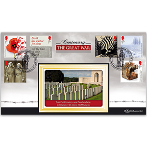 2017 WWI Stamps - Benham BLCS 2500 Cover
